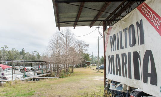 The city of Milton is withdrawing its request for RESTORE Act funding to improve the Quinn Street marina.