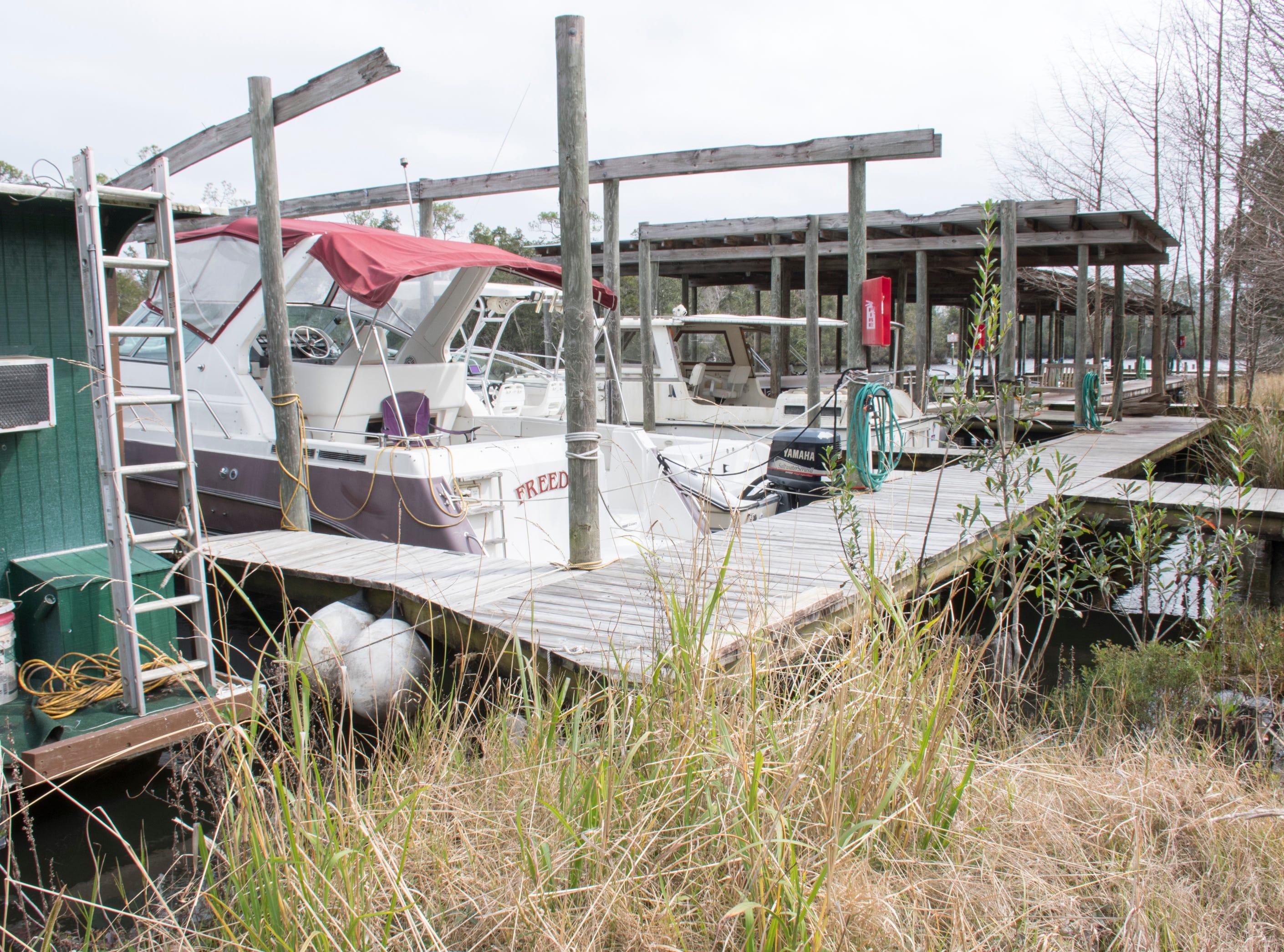 The Milton Marina in Milton on Wednesday, February 6, 2019.