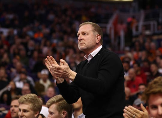 Robert Sarver's Phoenix Suns team continues to pay off. The franchise's value is up again in 2019.