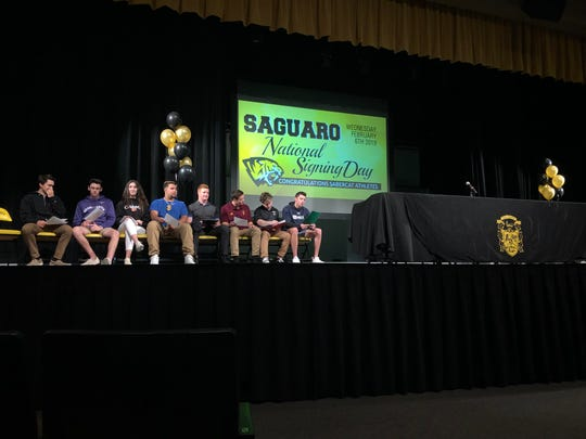 Saguaro National Signing Day