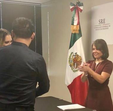 ¿Quieres casarte bajo las leyes mexicanas en EEUU? Ve al Consulado