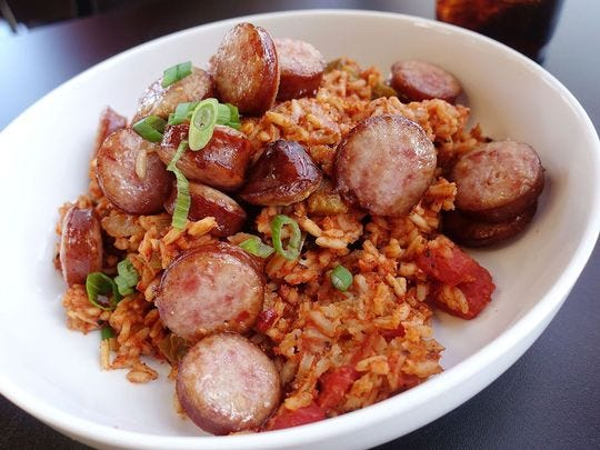Jambalaya de  Mingo's Louisiana Kitchen