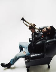 Trumpeter Keyon Harrold will lead a musical event at Bard College Feb. 9.