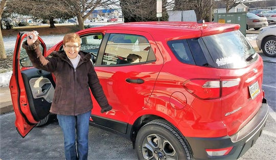 """Lavonda Patterson, a medical technician at Magnolias of Chambersburg,recently won a Ford EcoSport for having perfect attendance at work in 2018 - and a big dose of luck. She was randomly selected from among more than 35,000 other IntegraCare employees who had perfect attendance last year at the company's 10 senior living communities in Pennsylvania and Maryland. Patterson has been with Magnolias of Chambersburg since 1998. Currently on third shift, she is responsible for administering medications andproviding resident care, among other duties. Tressia Day, executive director at Magnolias of Chambersburg, said:""""Lavonda has had perfect attendance and has not called off from work the last two years. She never comes in late. To top it off, she works the third shift, the hardest shift, and has been here all this time."""" Winning the car came at a perfect time for Patterson, as her husband's vehicle recently stopped working and the family was down to one vehicle. IntegraCare's Continued Attendance AwardsProgram awards a new car to a dedicatedemployee based on consistent attendance throughout the previous year. Additionally, three grand prize winners were named at each of the 10 communities."""