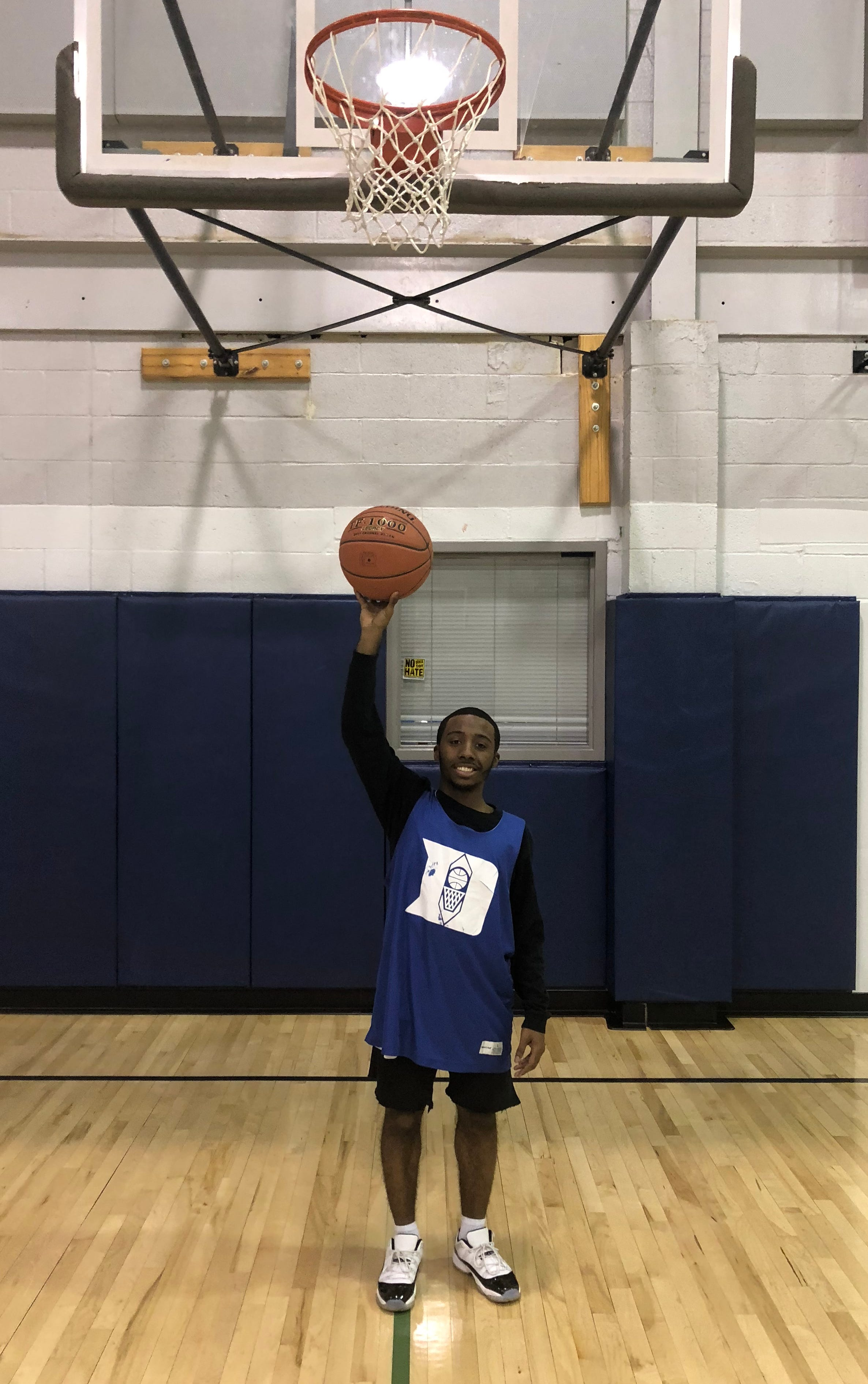 DaJon Simpson, a 4-foot, 11-inch guard, is one of the leaders on Dallastown this season. Simpson's coaches say he proves why intangibles matter in the game of basketball.