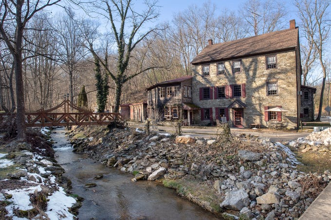 The Stone Mill 1792, which sits on a property along Smoketown Road in Manheim Township in southwestern York County, is listed for sale.