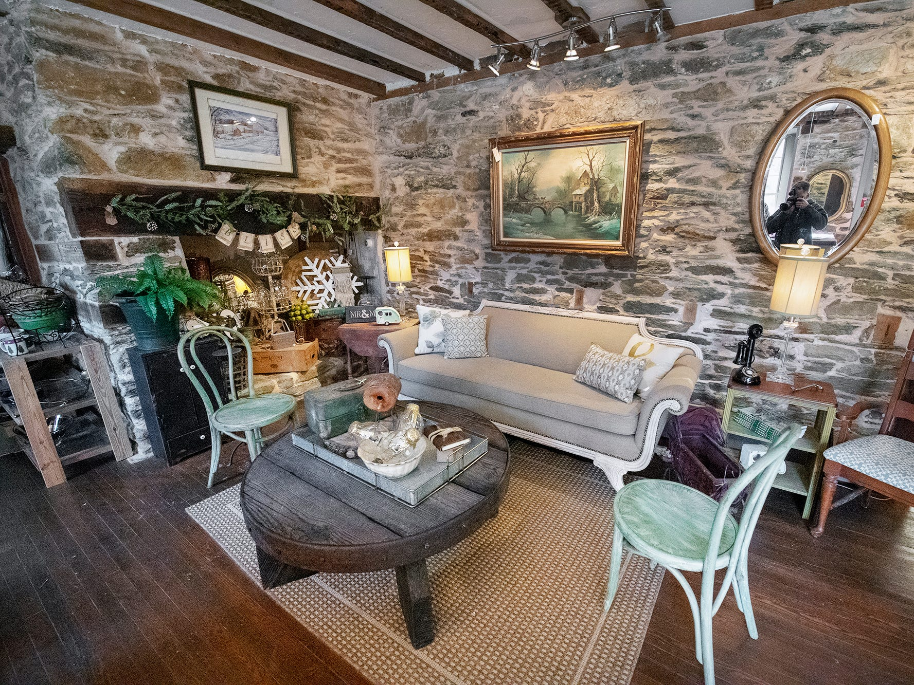 This is the first room you see when you enter the Stone Mill 1792.
