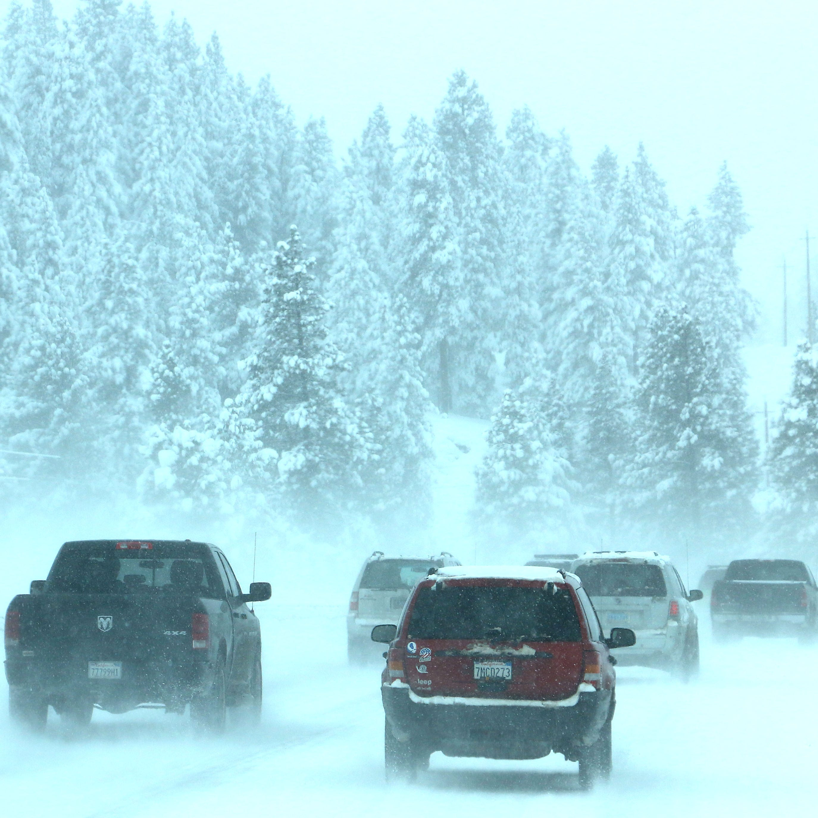Winter weather: whopping Sierra snow totals after last storm with more to come