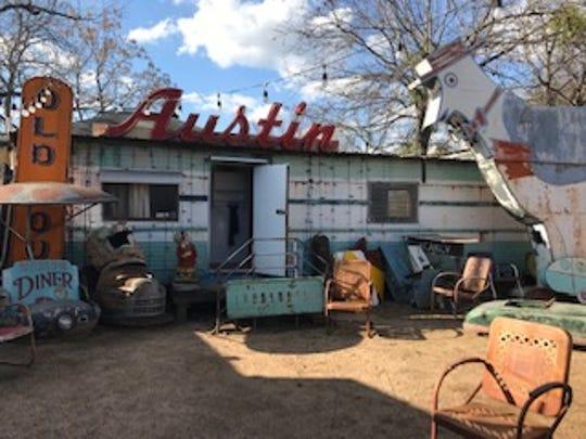Roadside Relics Gallery in Austin.