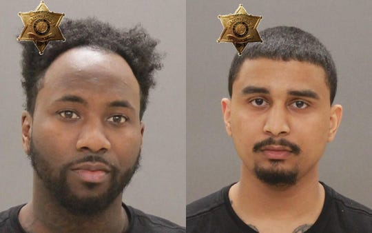 Elijah Davis, left, and Tawan Davis