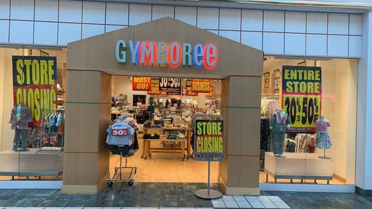 Gymboree closed at Eastview Mall