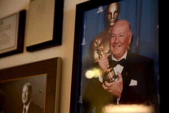 Don Rogers enjoyed a distinguished post-production career in Hollywood from the early 1950s to the mid-1990s. He regularly attends the Academy Awards.