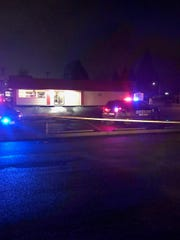 Marion County Sheriff's Office deputies investigate multiple stabbings at Salem Dairy Queen on Lancaster Drive NE.