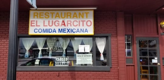 El Lugarcito has temporarily lost its license to sell alcohol, according to the state's Department of Alcoholic Beverage Control.