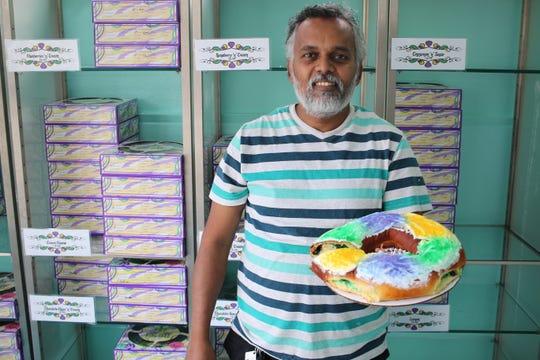 Lilah's Bakery in Shreveport s known for their King Cakes.