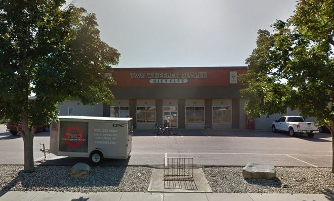 The former Two Wheeler Dealer at 3315 S. Spring Avenue. Minnesota-based Erik's announced Wednesday it had purchased the store.
