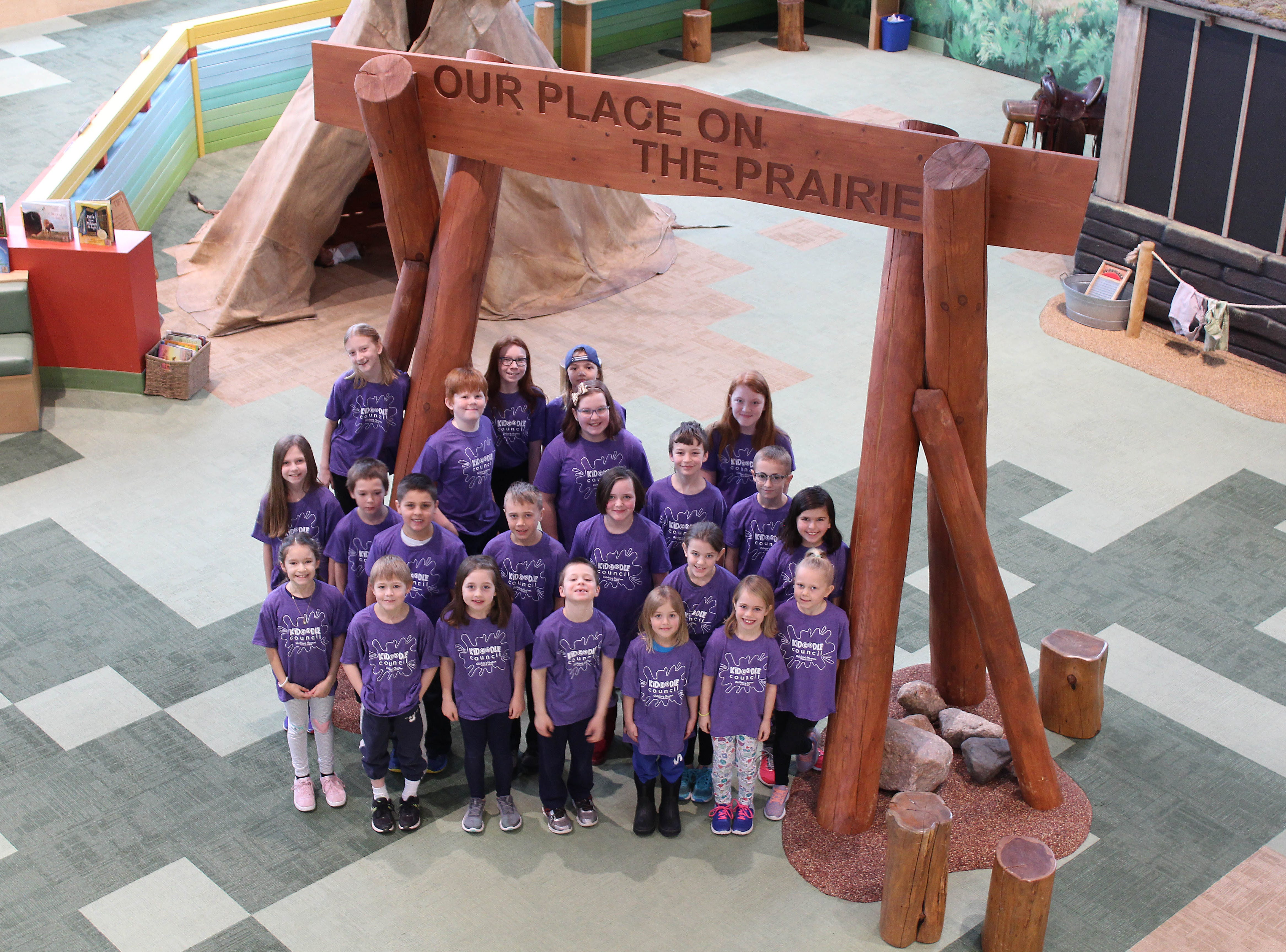 The Kidoodle Council, the Children's Museum of South Dakota's recently formed youth advisory board.