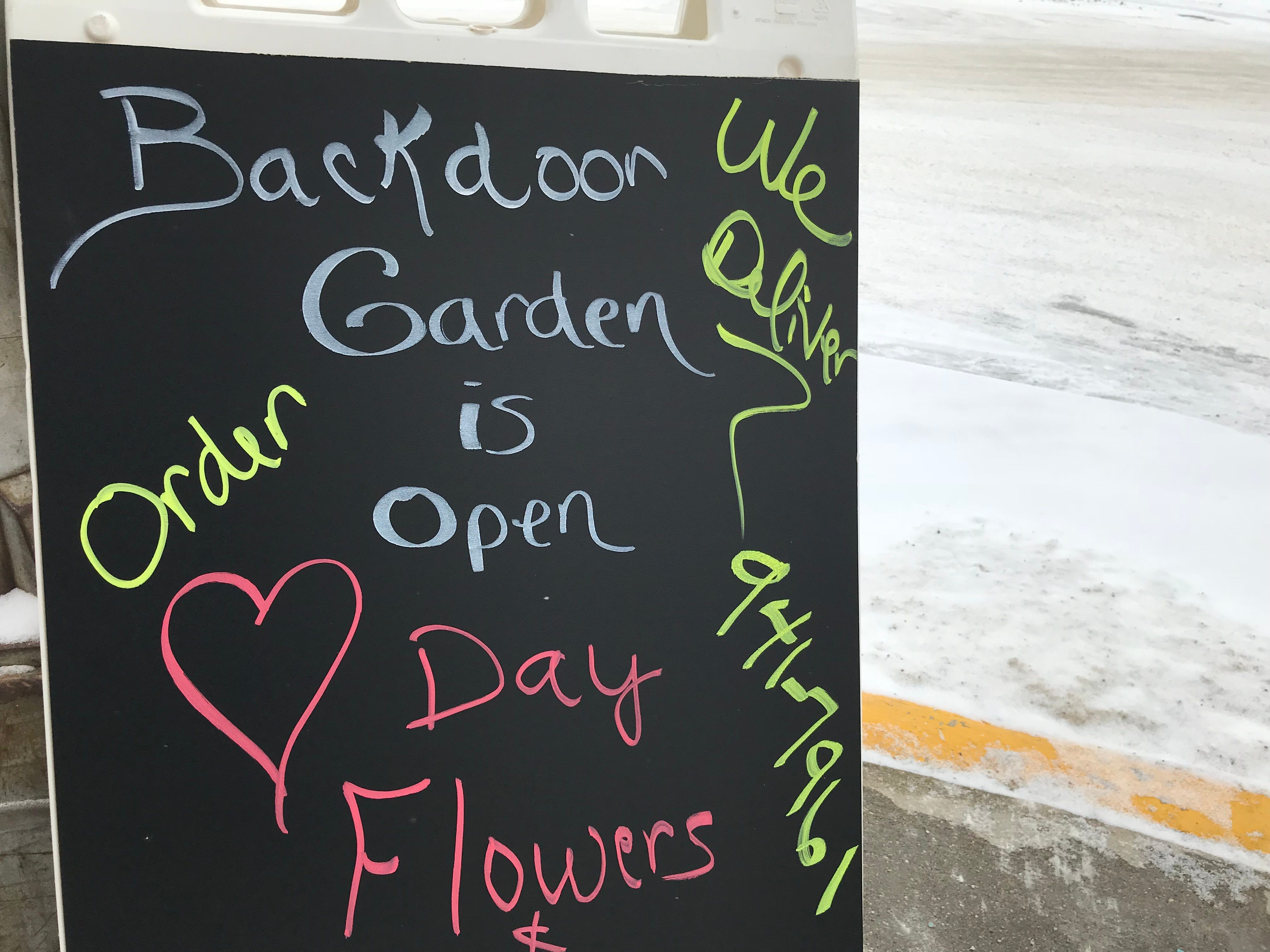 Backdoor Garden opened its downtown Hartford location this week, adding to the community's economic revitalization.
