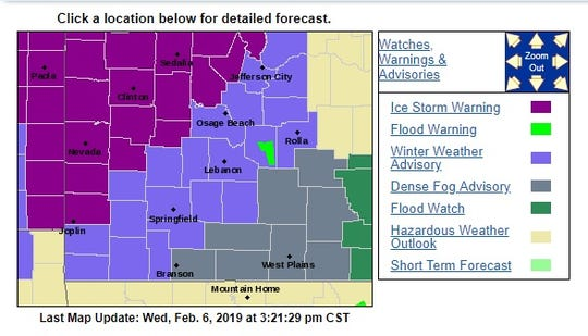 Severe weather is heading to Springfield.
