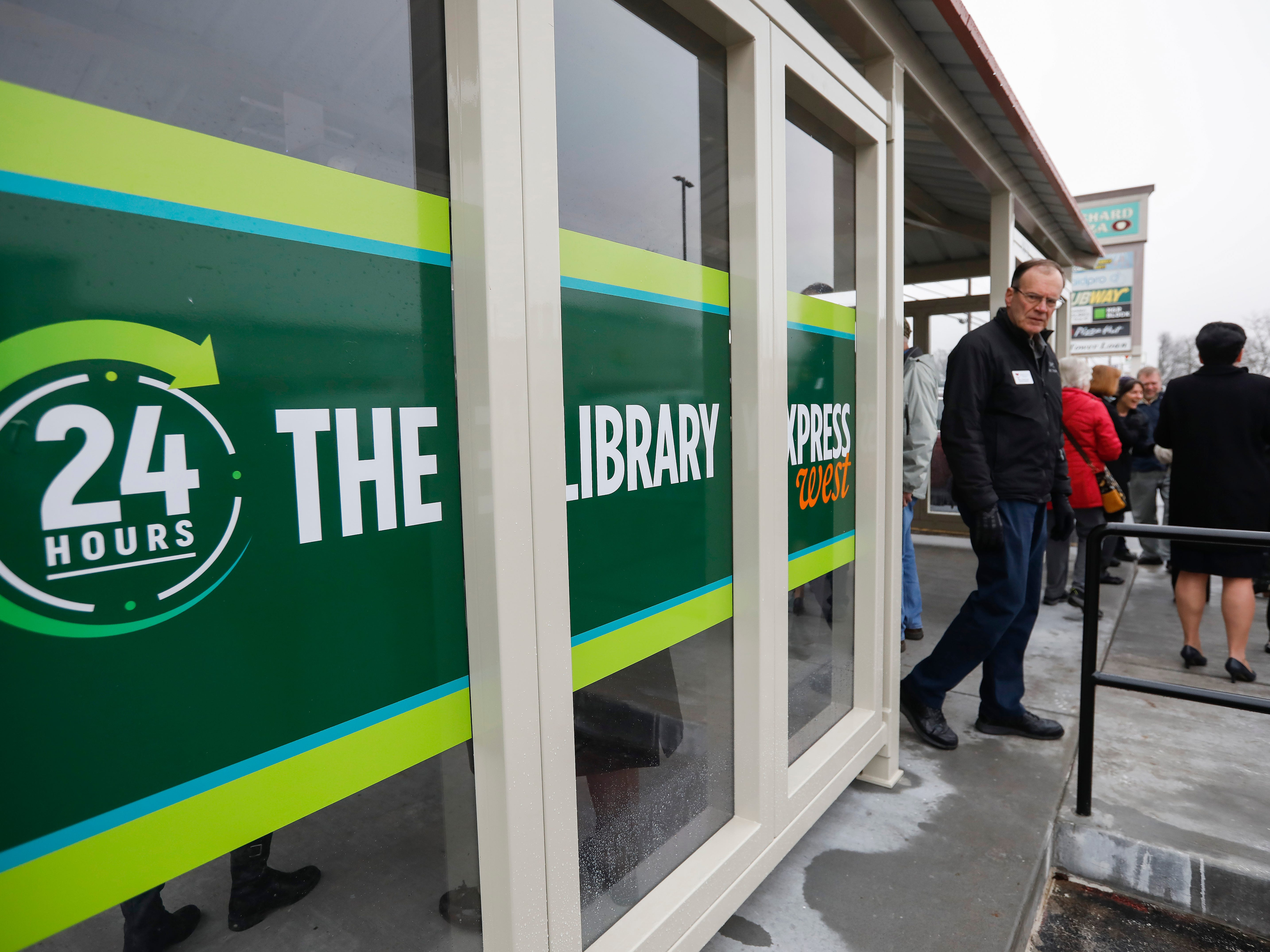 Scenes from the grand opening of the new Library Express West located at 3872 W. Chestnut Expressway in Orchard Plaza on Wednesday, Feb. 6, 2019.