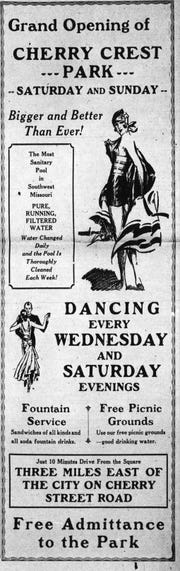This ad appeared in the Springfield Leader and Press on June 14, 1930.