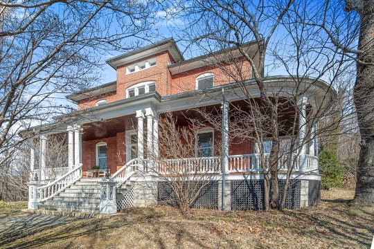 This T.J. Collins and Sons design has only had two owners. The home, called Braeburn, was built in 1901 and sits on a 9.1 acre property. It is for sale for $495,000 and located on Braeburn Place.