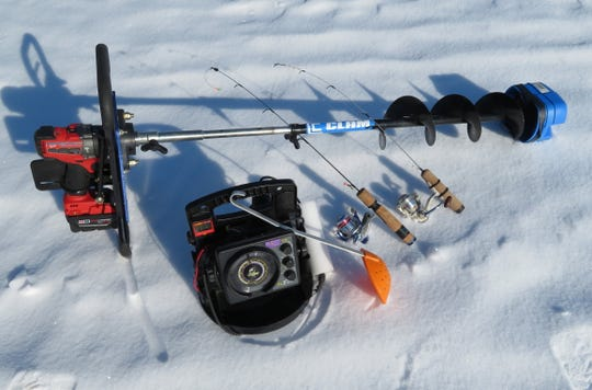 Even though you have the equipment and the know-how, anglers can still have a bad day on the ice.