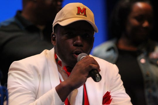 Godby linebacker Cortez Andrews signed with Maryland during signing ceremonies on National Signing Day, Feb. 6, 2019.
