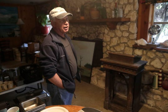 Leo Lovell, owner of the Spring Creek Restaurant, stands in the dining area detailing the memories that the dining room holds from the decades of his ownership of the restaurant. Tuesday Feb. 5, 2019.