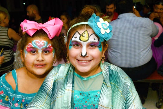 Melina and Eleni Kutukyan at the Father/Daughter/Someone Special Dance at  Renaissance Charter School of St. Lucie.