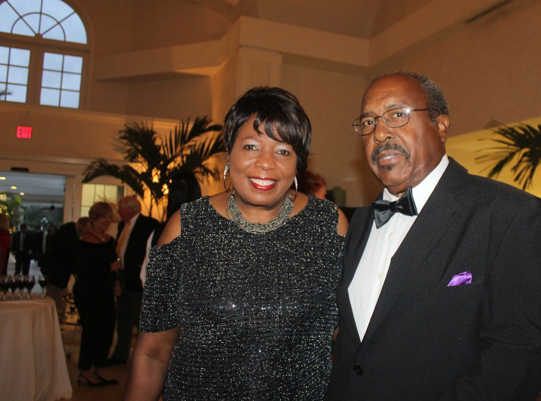 Margaret and George Ingram at the Gifford Youth Achievement Center's Snow Ball on Jan. 26.