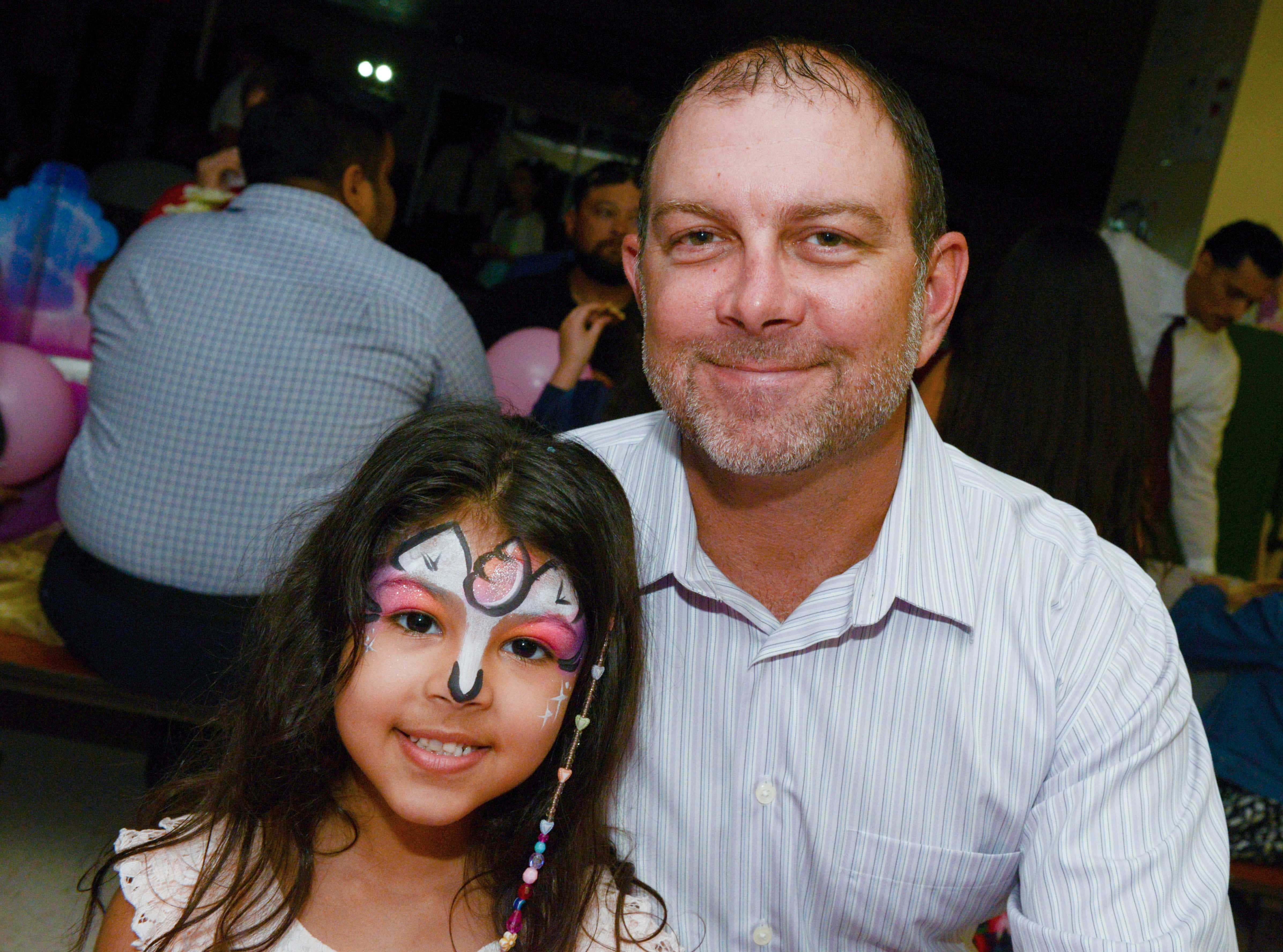 Christina and Bobby Malone at the Father/Daughter/Someone Special dance at Renaissance Charter School of St. Lucie.