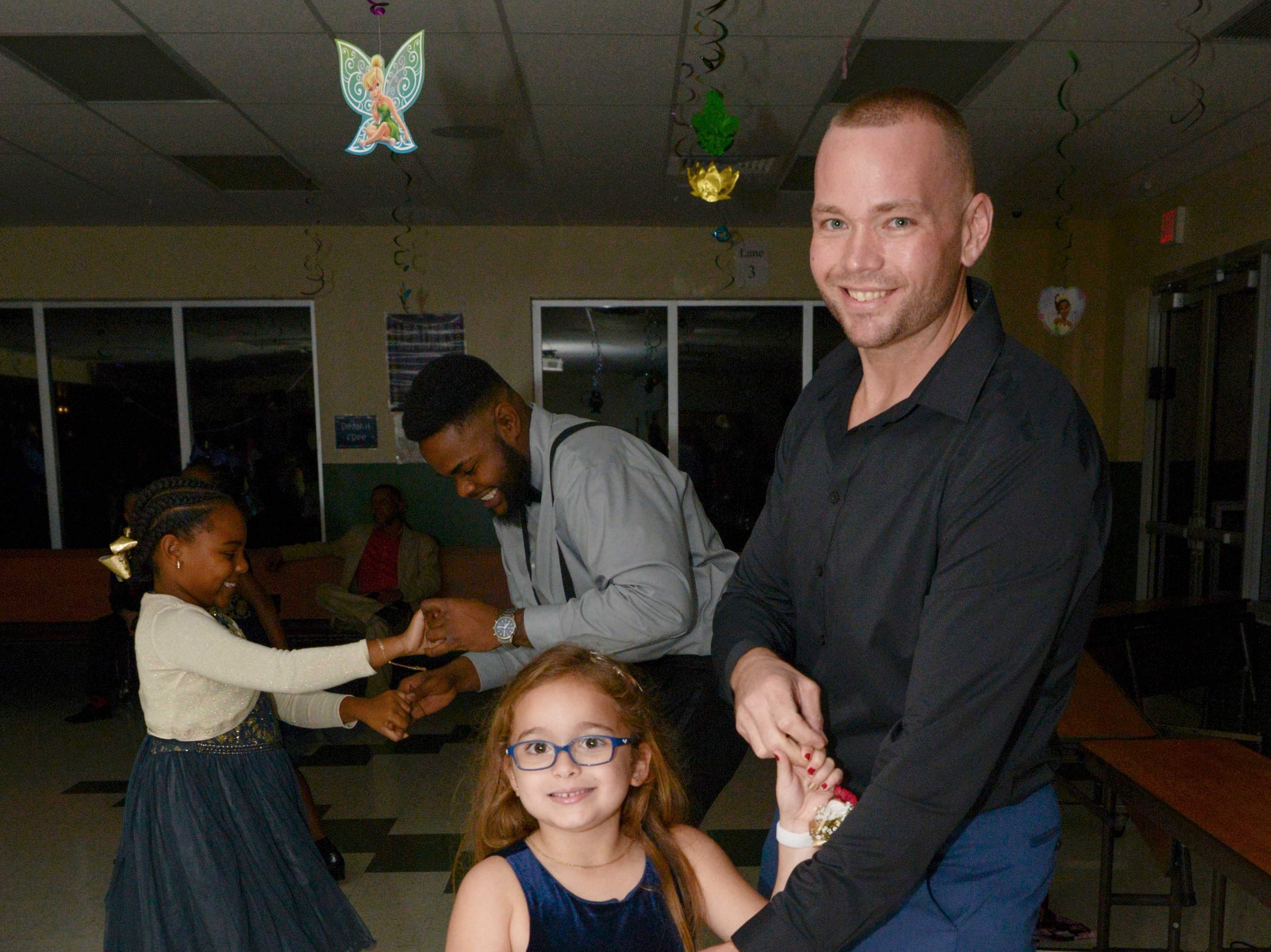 Brooke and Todd Latif at the Father/Daughter/Someone Special Dance at Renaissance Charter School of St. Lucie.