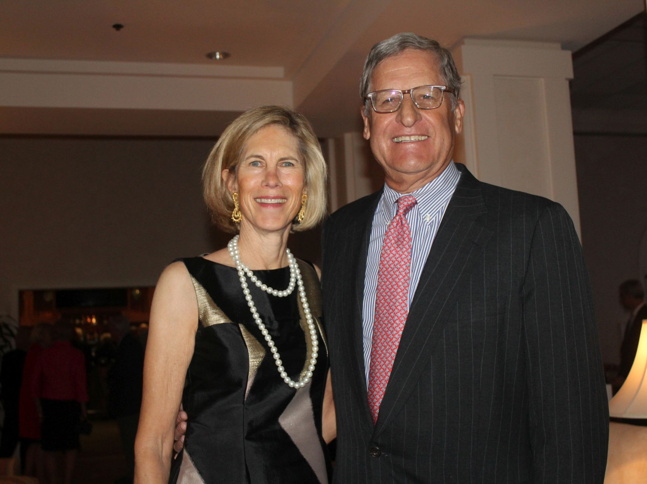 Debbie and Ted Berghorst at the Gifford Youth Achievement Center's Snow Ball on Jan. 26.