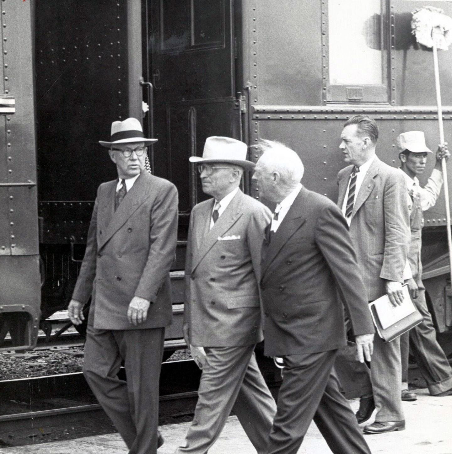 Past presidential visits: Harry Truman in 1948