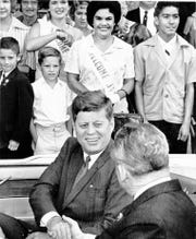 Photo taken 06/06/1963 President John F. Kennedy visits El Paso.
