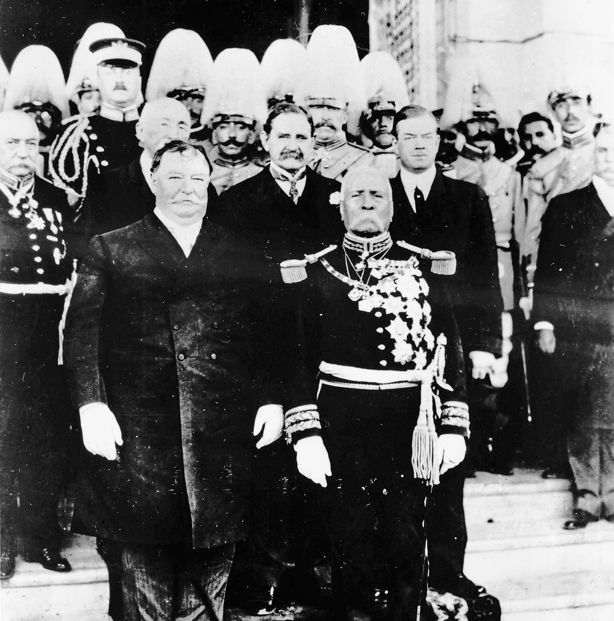 Past presidential visits: William Howard Taft in 1909