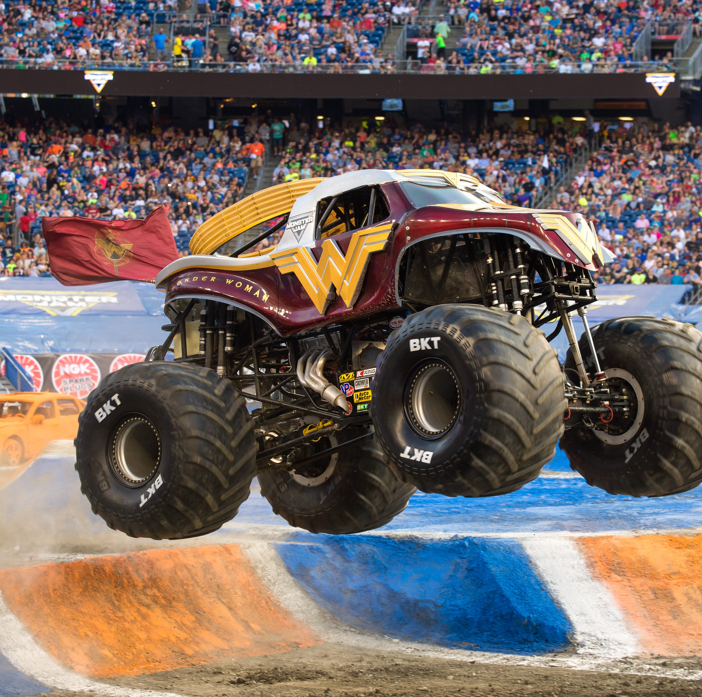 Monster Jam roars into Greenville Friday and Saturday