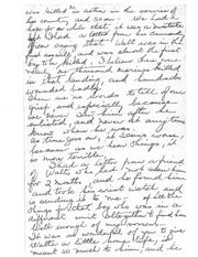 Part 2/3 of the letter from Walter Critchley's mother to Dr. Don Stewart.