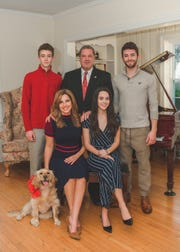 Mary Calvi and Mike Spano family