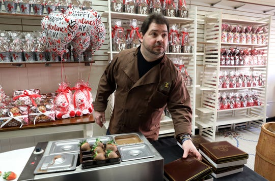 Nick Lucas, owner of Lucas Candies in Haverstraw, talks about the village's draft of a new comprehensive plan Feb. 5, 2019.