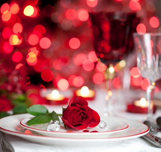 And if you can't make it out on Valentine's night, give a lunch date a try.