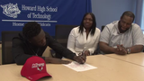 Tyhir Harley signed Wednesday to play defensive back at Marist College.  2/6/19