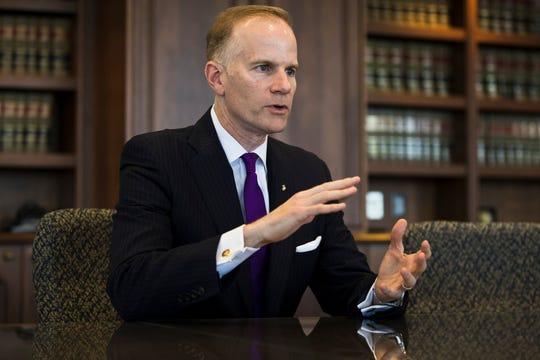 U.S. Attorney William McSwain in 2018.