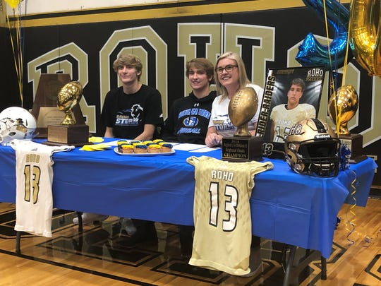 Rider's Kyler Spear signed a letter of intent to play football at Southeastern Oklahoma State in Durant, Oklahoma.
