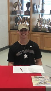 Holliday's Jett Johnson signed to play football with West Texas A&M. Johnson was the TRN Red River 22 Small School MVP this past season after leading the Eagles to the state quarterfinals and an 12-2 record.