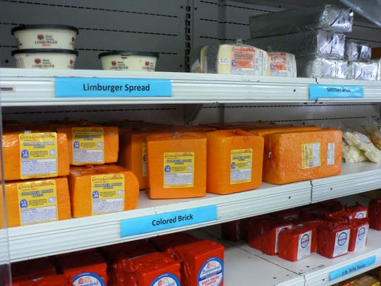 While fluid milk sales are down cheese consumption is booming.