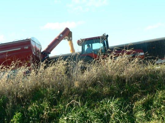 Despite some weather challenges the corn crop was super.