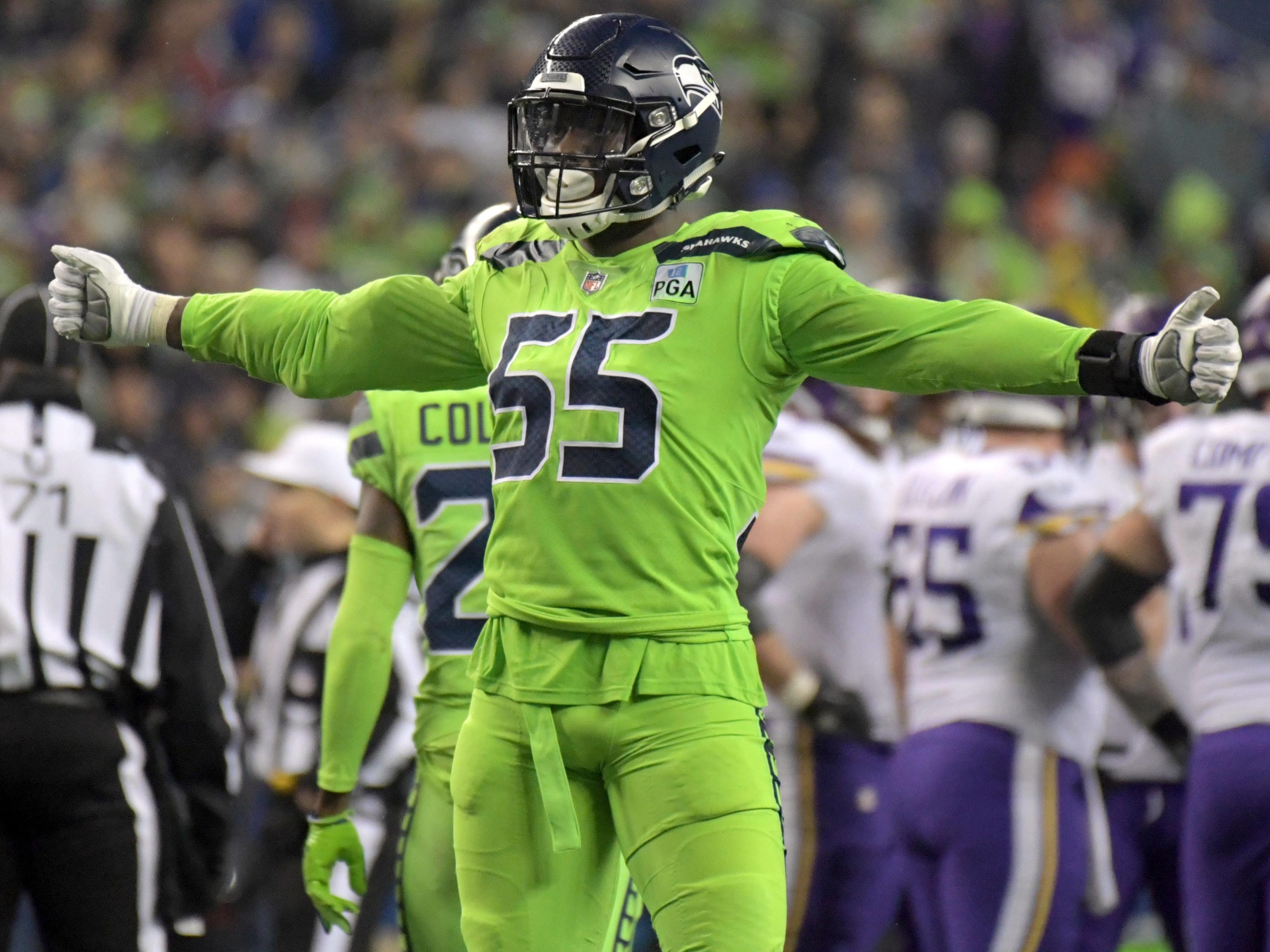 10. Seahawks (9): Rebuild/reboot phase over for team that appeared way ahead of schedule in 2018. Decisions loom for unsigned Frank Clark and Earl Thomas.