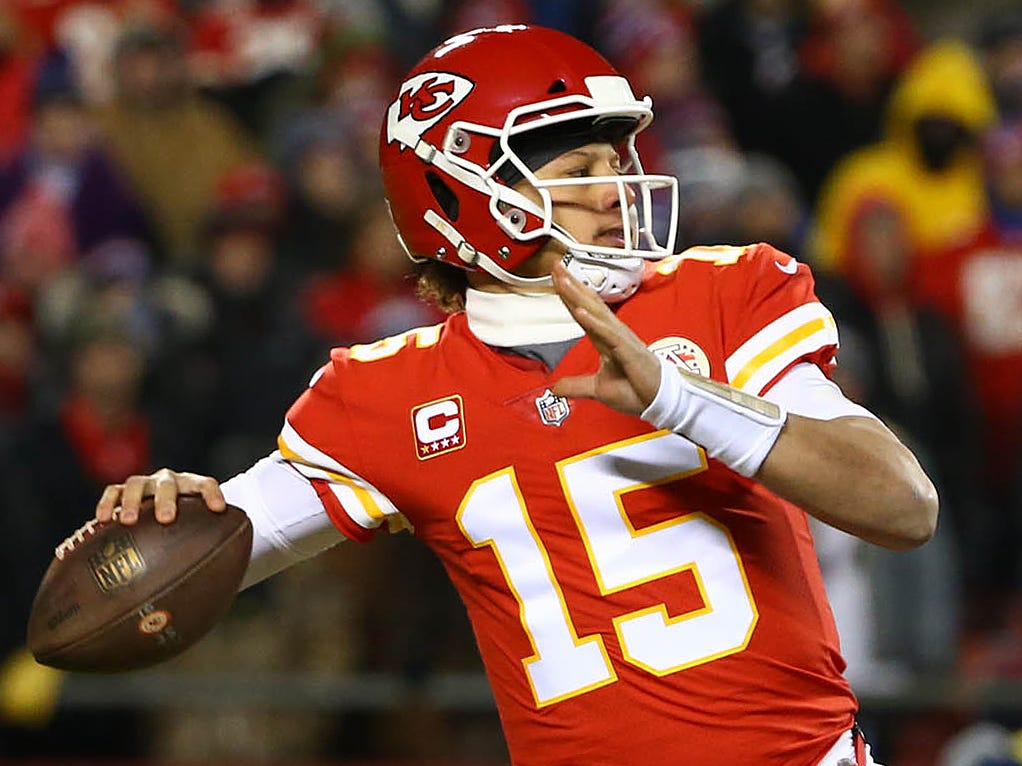 3. Chiefs (4): They've also got strong argument for finishing second in final 2018 power rankings poll after taking eventual champs to OT in AFC title game.